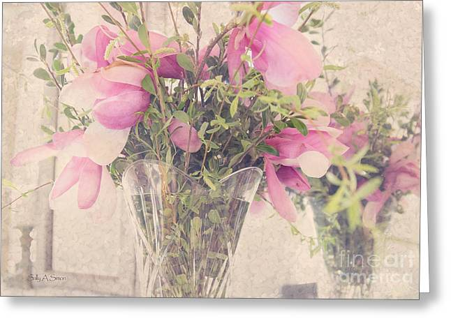 Spring Magnolias Greeting Card
