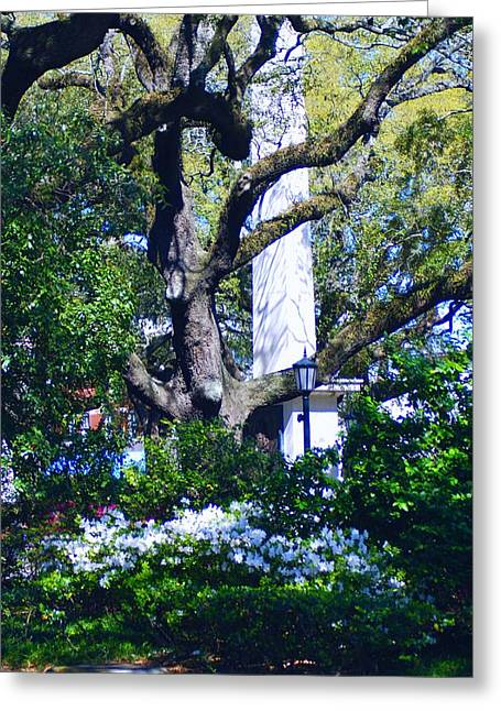 Spring Monolith Greeting Card