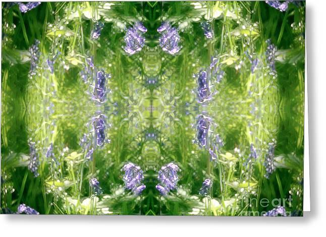 Spring Symmetry Greeting Card