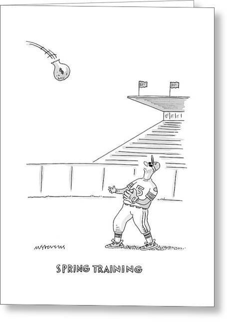 'spring Training' Greeting Card