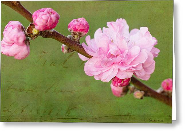 Spring's Reveal  Greeting Card by Heidi Smith