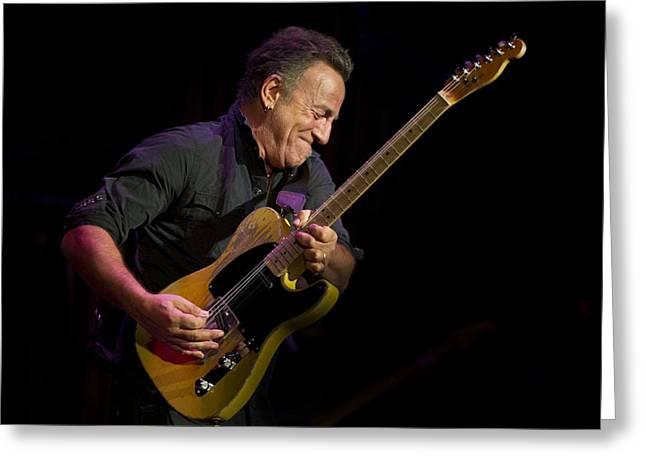 Springsteen Shreds Greeting Card