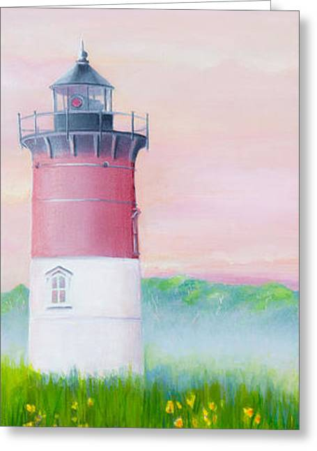 Springtime At Nauset Light Beach Greeting Card