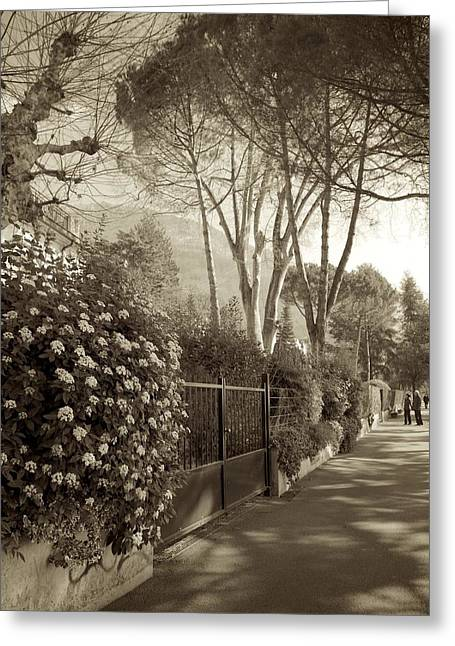 Springtime In Montreux Greeting Card