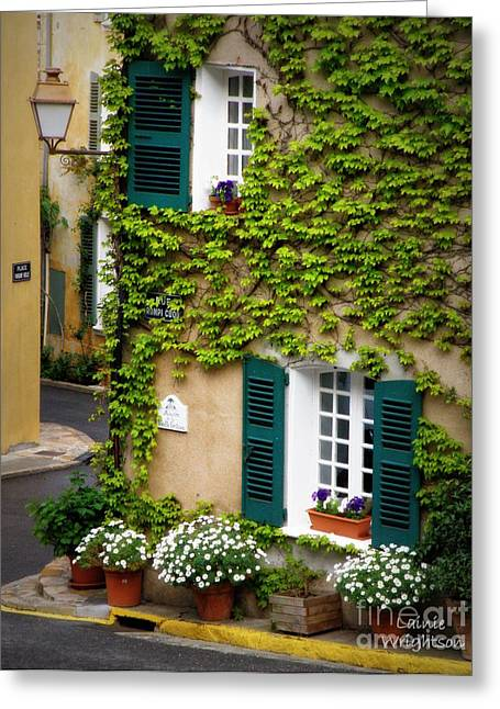 Springtime In Provence Greeting Card