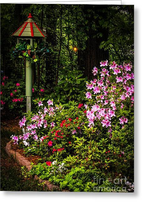 Springtime In The Garden  Greeting Card