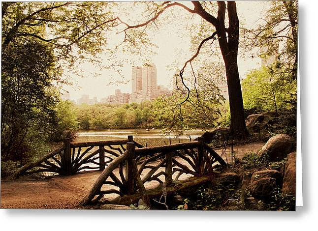 Springtime In The Park Greeting Card by Jessica Jenney