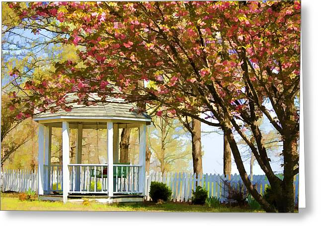 Springtime Southern Style Greeting Card by Dan Holland