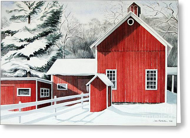 Springwater Barns Greeting Card