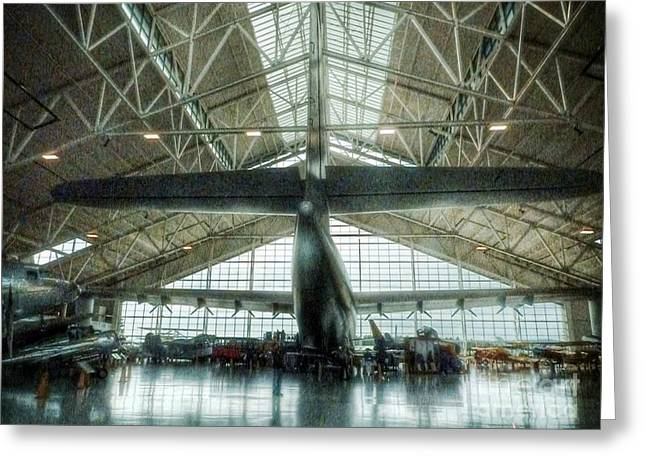 Spruce Goose Tale Greeting Card