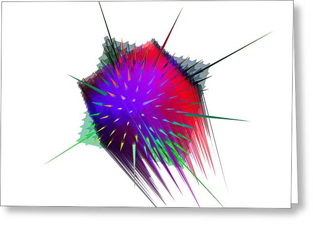 Sputnik Digital Art by Janine Bruttin