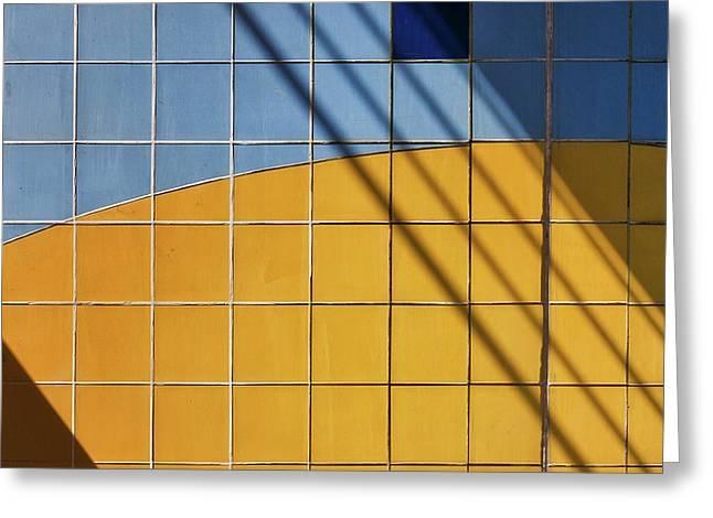 Square-\-shadow Greeting Card