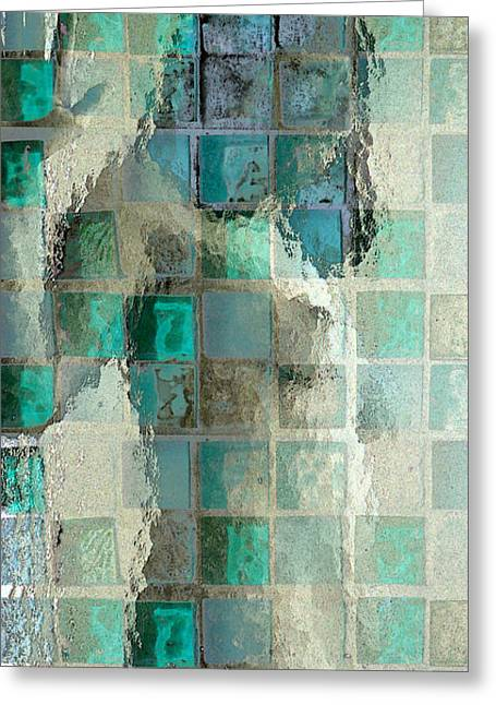 Squared Away 7 Greeting Card by Jeff Breiman