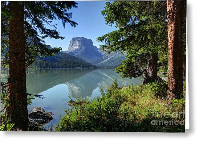Squaretop Mountain - Wind River Range Greeting Card