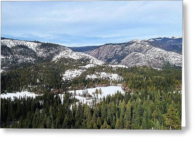 Squaw Valley Greeting Card by Phil Gorham