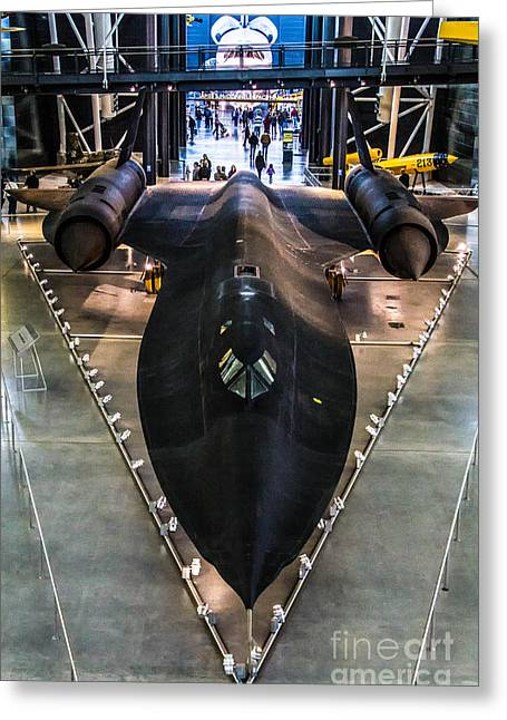 Sr71 Greeting Card