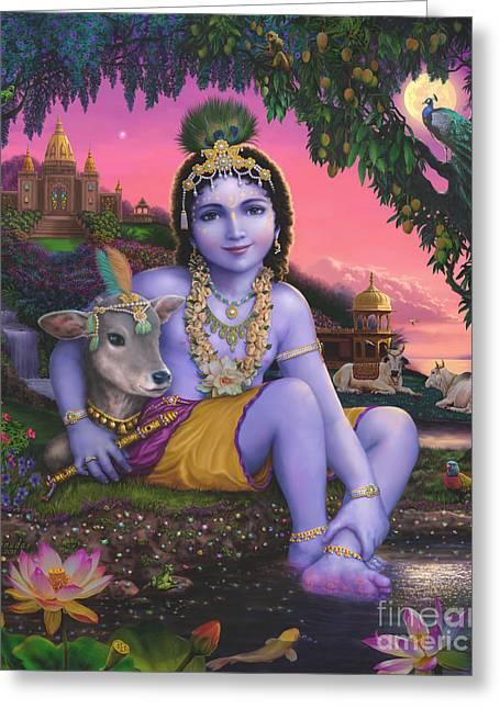 Sri Krishnachandra Greeting Card