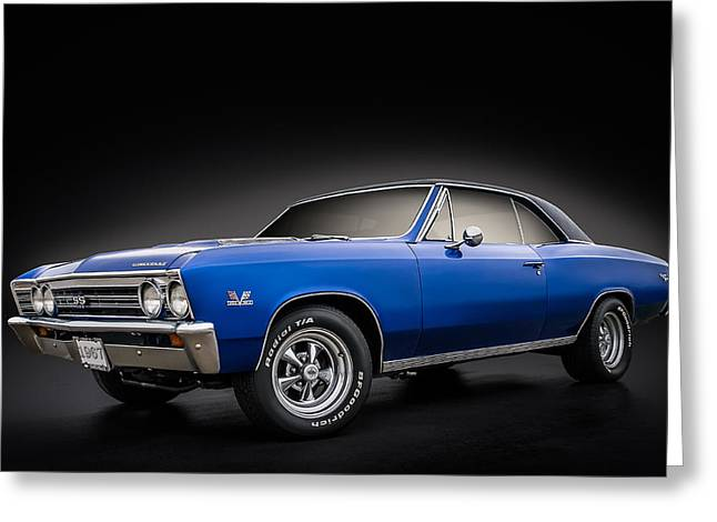 Ss 396 Chevelle Greeting Card