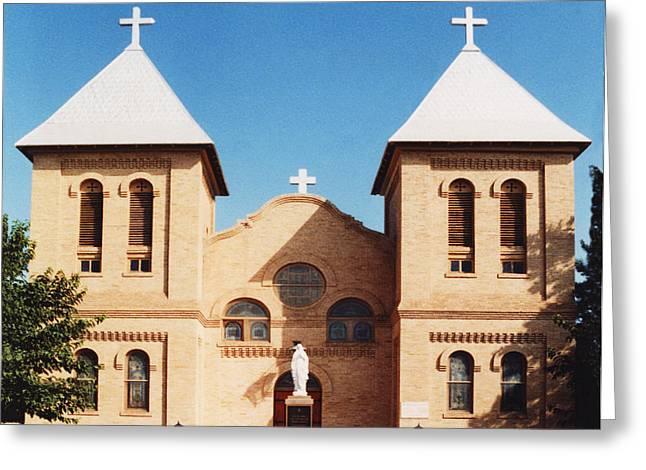 St. Albino Church Greeting Card