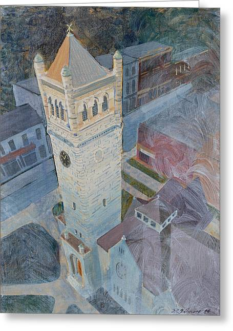 St Andrews Bell Tower Greeting Card