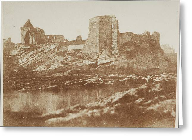 St. Andrew's Castle. Greeting Card by British Library