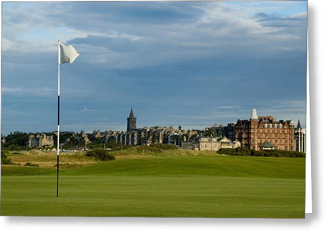 St Andrews Golf Greeting Card by Jeremy Voisey