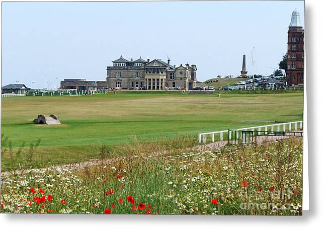 St Andrews Royal And Ancient Golf Course Greeting Card