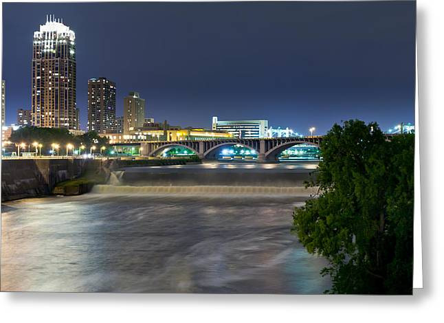 St. Anthony Falls Greeting Card