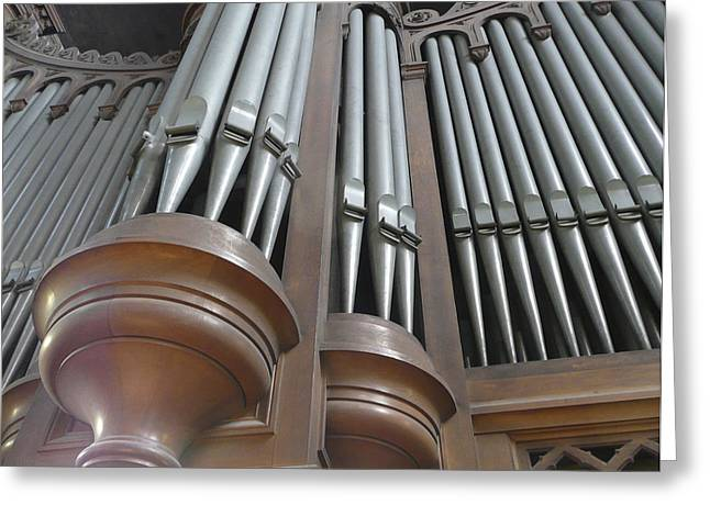 St Augustin Organ Greeting Card