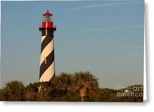 St. Augustine Lighthouse #3 Greeting Card by Paul Rebmann