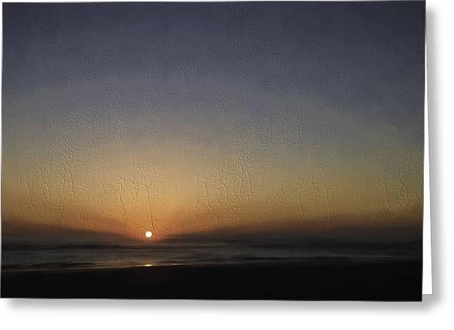 St. Augustine Sunrise-cracked Greeting Card by Kathleen Scanlan