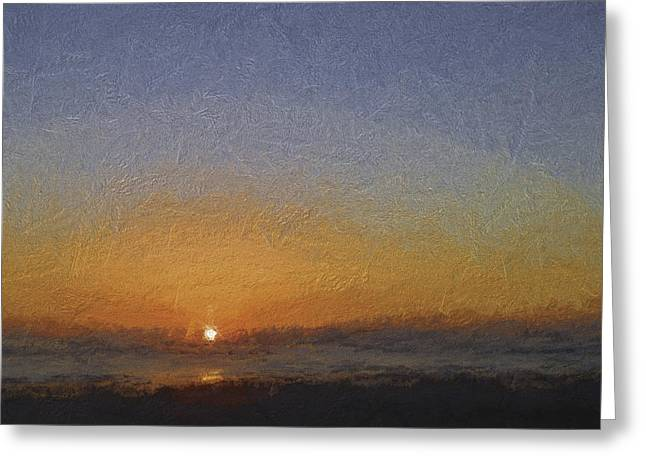 St Augustine Sunrise-turner Greeting Card by Kathleen Scanlan