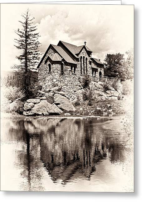 St. Catherine's Chapel Greeting Card