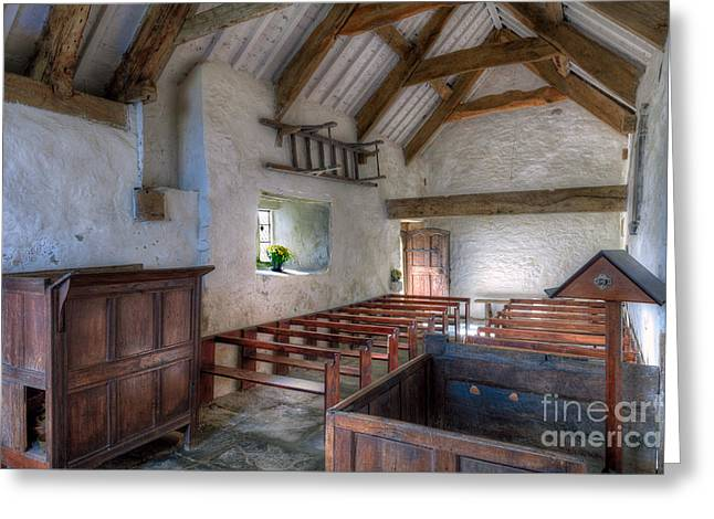 St Celynnin Interior Greeting Card