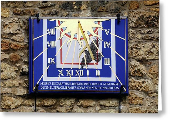 St Edmund Hall Greeting Card by Greg Smolonski/oxford University Images