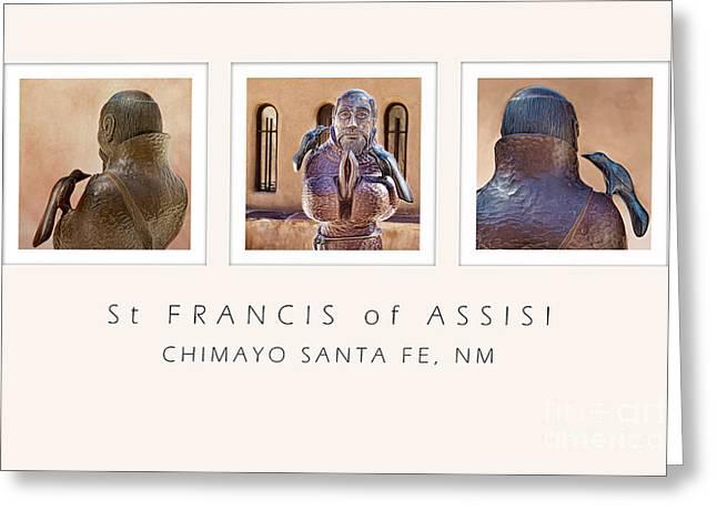 St Francis 360 Greeting Card