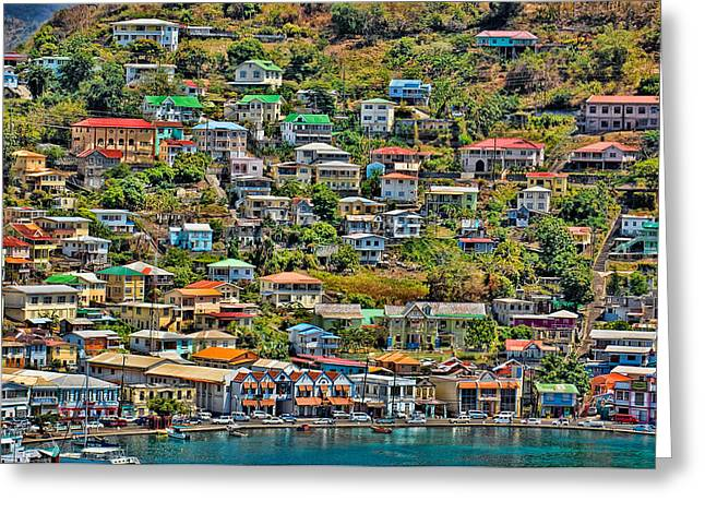 St. Georges Harbor Grenada Greeting Card