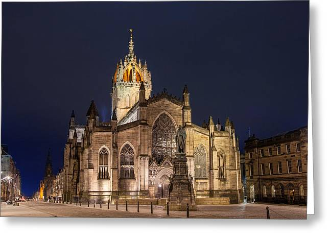 St. Giles Cathedral Greeting Card