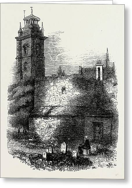 St. Giless, Cripplegate Greeting Card by Litz Collection