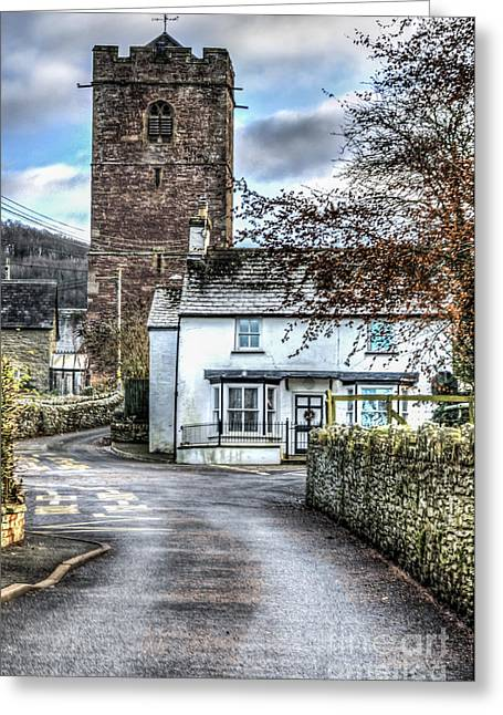 St Gwendolines Church Talgarth Greeting Card by Steve Purnell