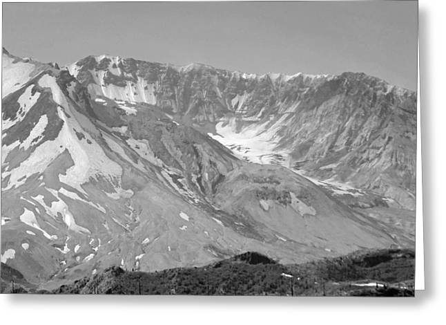 St. Helen's Crater Greeting Card