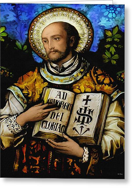 St. Ignacius Of Loyola Greeting Card