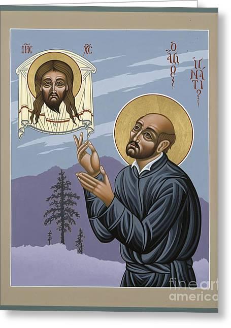 St. Ignatius Amidst Alaska 141 Greeting Card