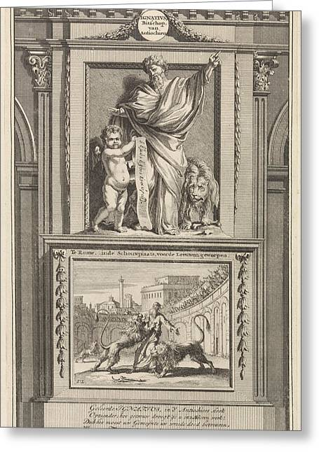 St. Ignatius Of Antioch, Apostolic Father Greeting Card by Quint Lox