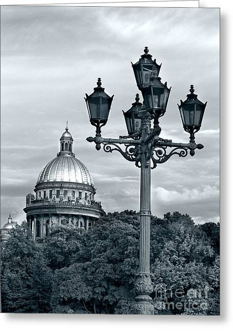 St Isaac Cathedral Greeting Card