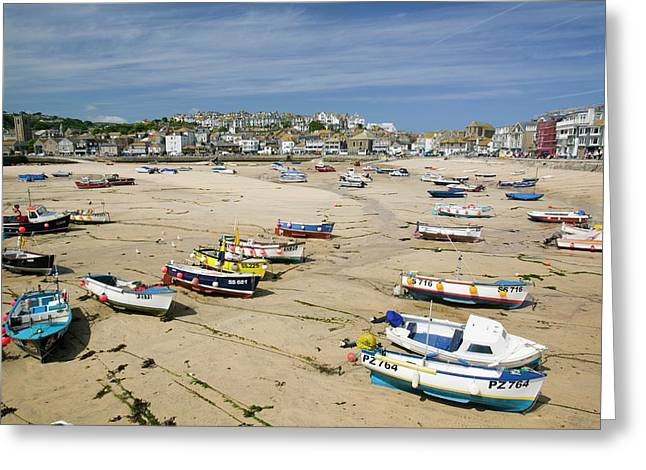 St Ives Greeting Card by Ashley Cooper