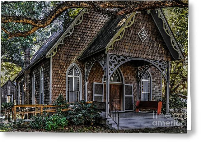 St. James Episcopal Church In Mccellanville Sc Greeting Card