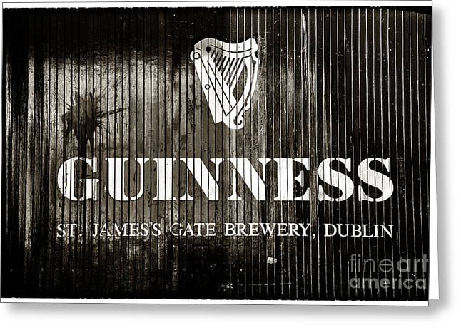 St. James Gate Brewery Greeting Card by John Rizzuto