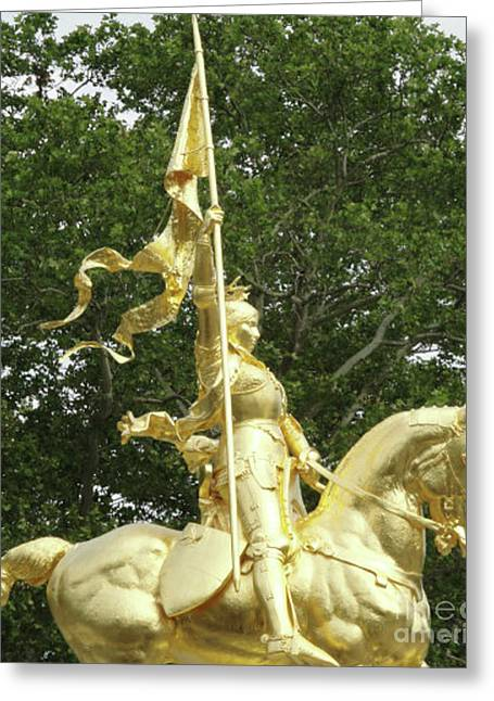 St. Joan Of Arc Greeting Card