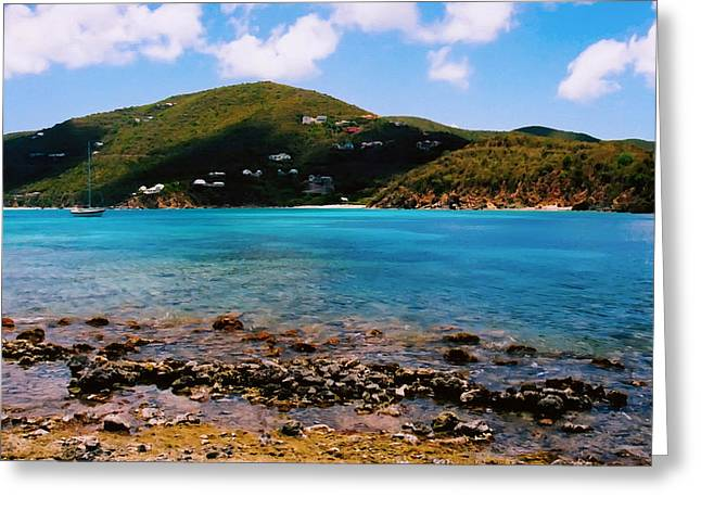 St John Bay Greeting Card